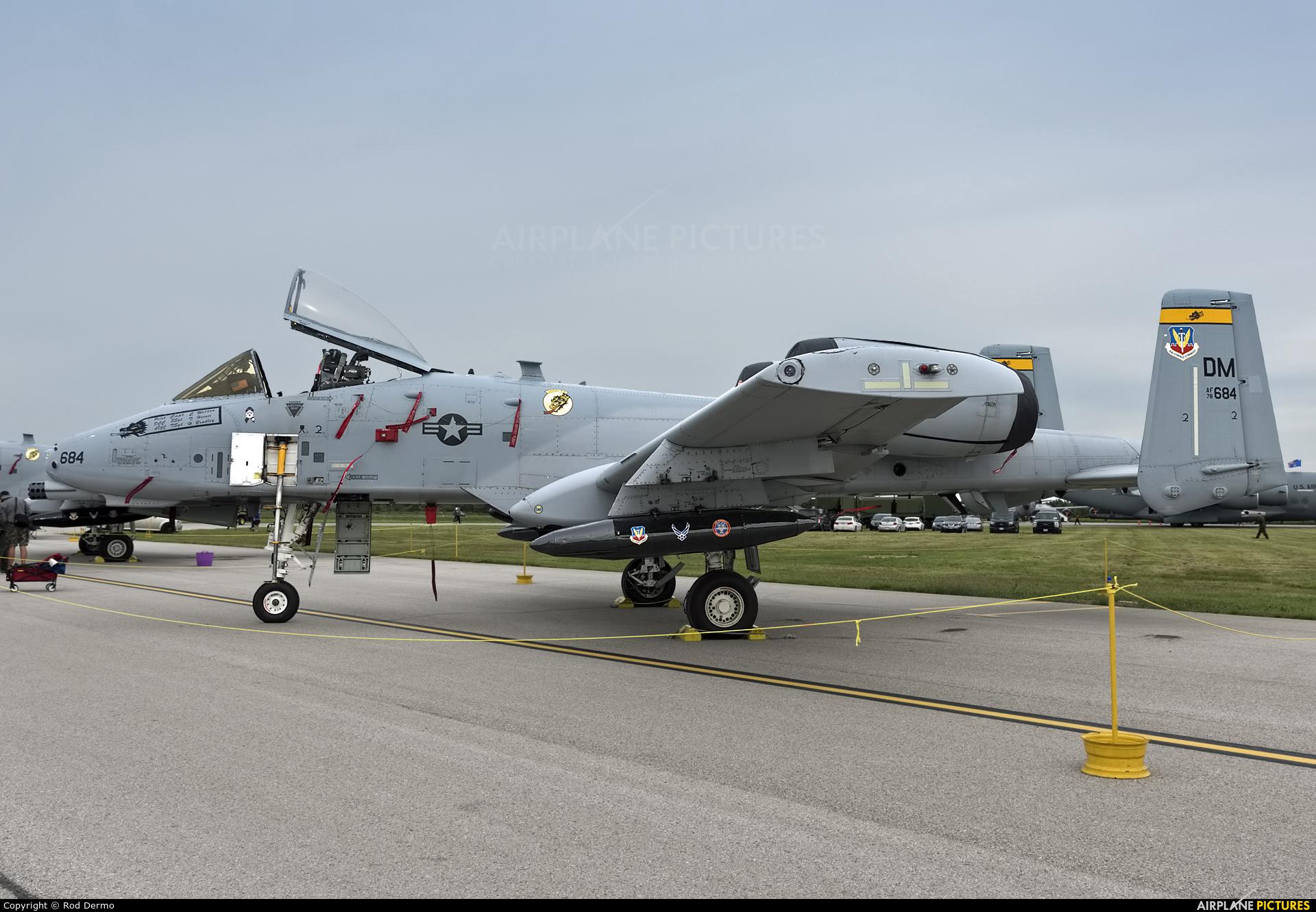 USA - Air Force 78-0684 aircraft at London  Intl, ON