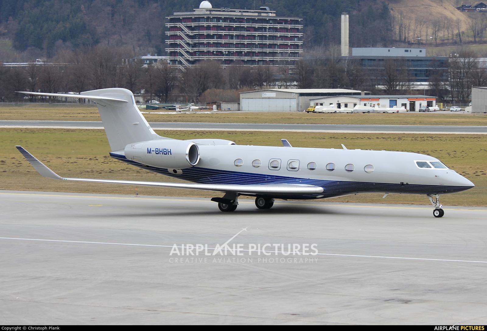 Private M-BHBH aircraft at Innsbruck