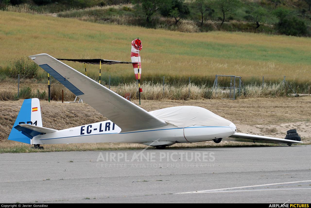 Private EC-LRI aircraft at Igualada - Odena