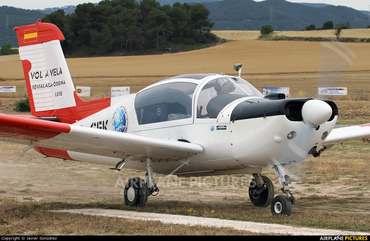Private EC-CEK aircraft at Igualada - Odena