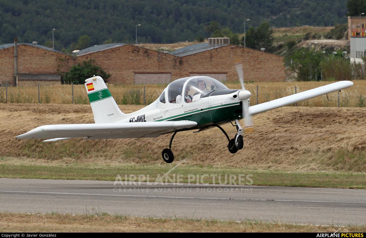 Private EC-DU2 aircraft at Igualada - Odena