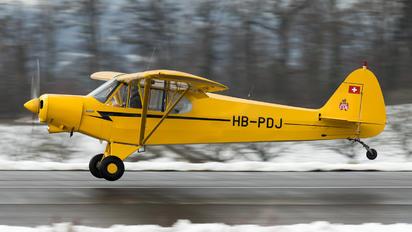 HB-PDJ - Private Piper PA-18 Super Cub