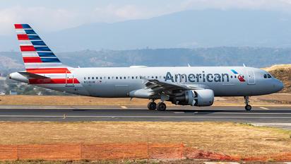 N128UW - American Airlines Airbus A320