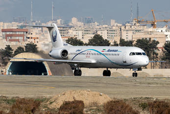 EP-ATG - Iran Aseman Fokker 100