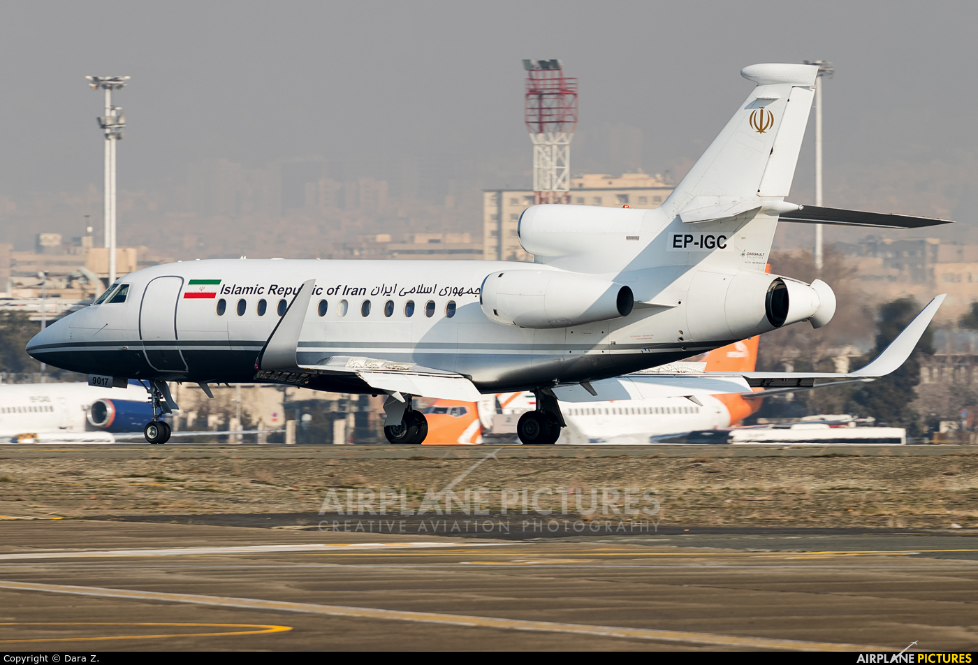 Iran - Government EP-IGC aircraft at Tehran - Mehrabad Intl