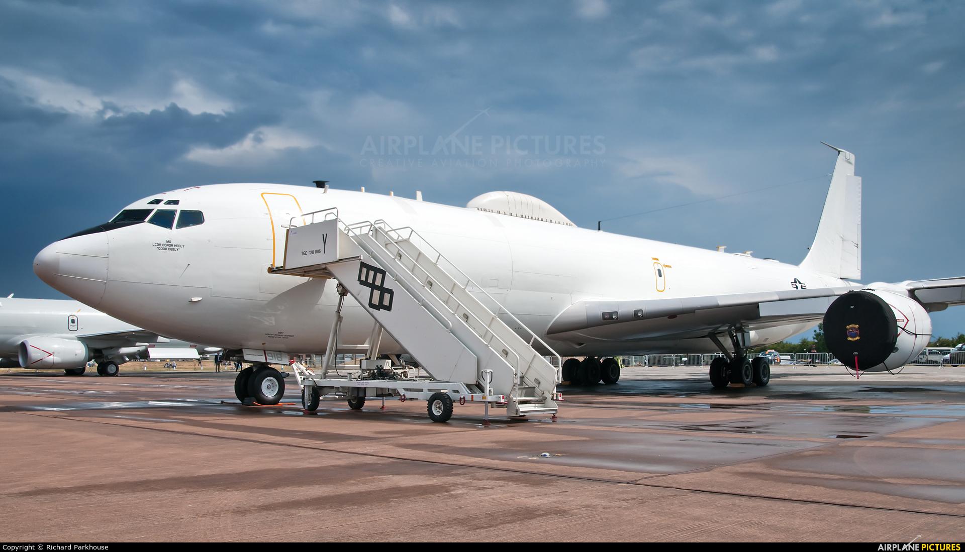 USA - Navy 163918 aircraft at Fairford
