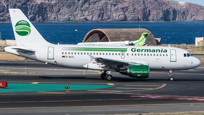D-ASTL - Germania Airbus A319