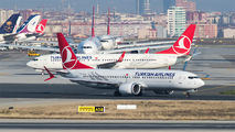 TC-LCA - Turkish Airlines Boeing 737-8 MAX aircraft
