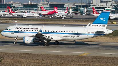 9K-AKK - Kuwait Airways Airbus A320