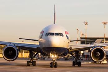 G-YMMU - British Airways Boeing 777-200