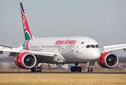 5Y-KZH - Kenya Airways Boeing 787-8 Dreamliner aircraft