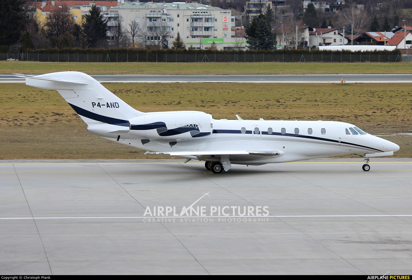 Avangard Aviation P4-AND aircraft at Innsbruck