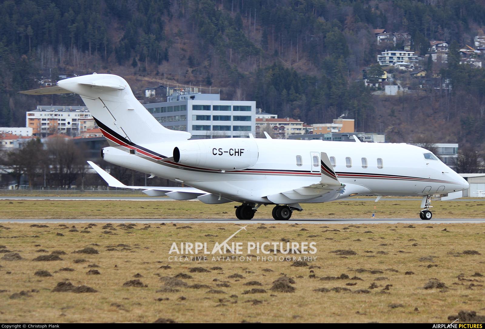 NetJets Europe (Portugal) CS-CHF aircraft at Innsbruck