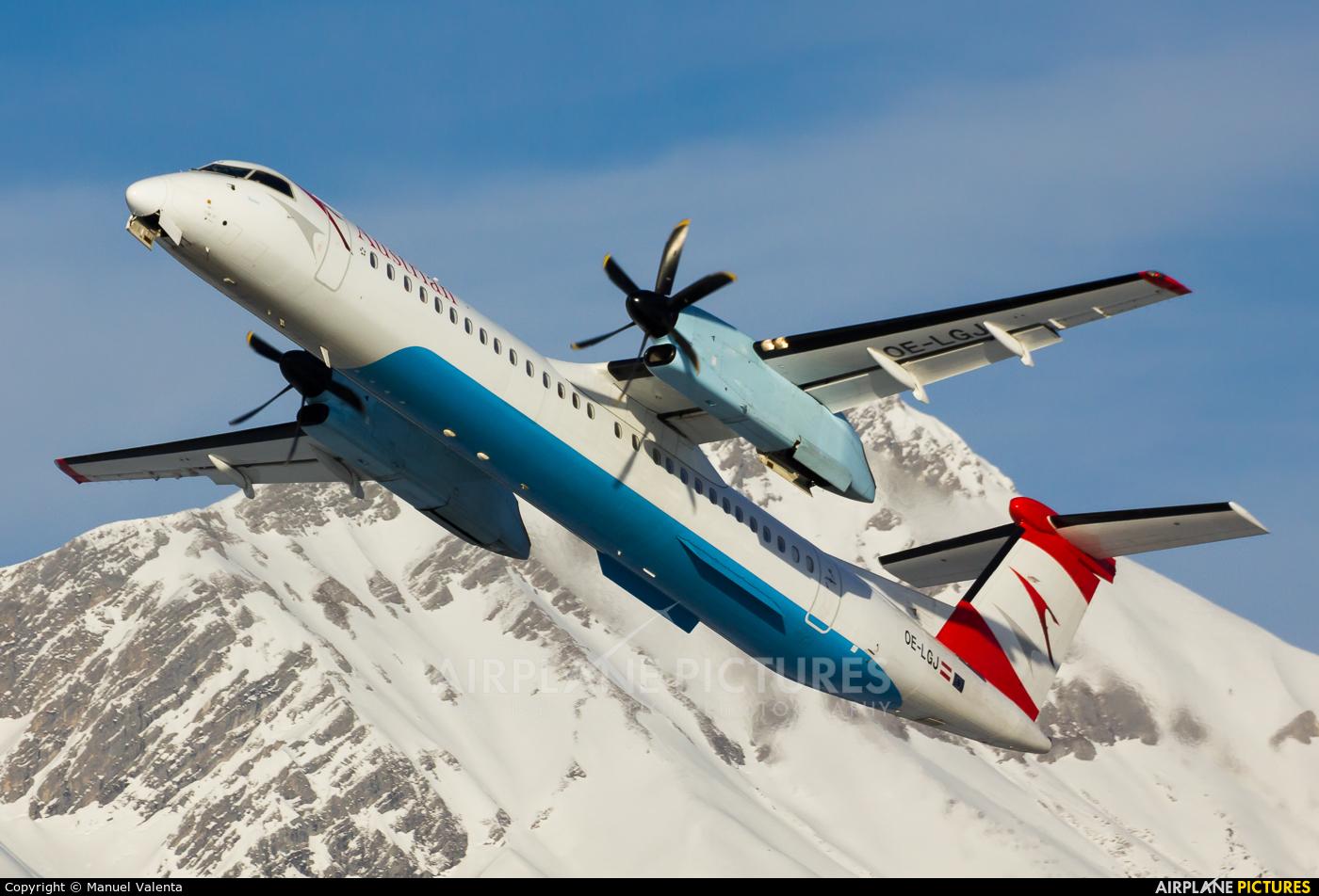 Austrian Airlines/Arrows/Tyrolean OE-LGJ aircraft at Innsbruck