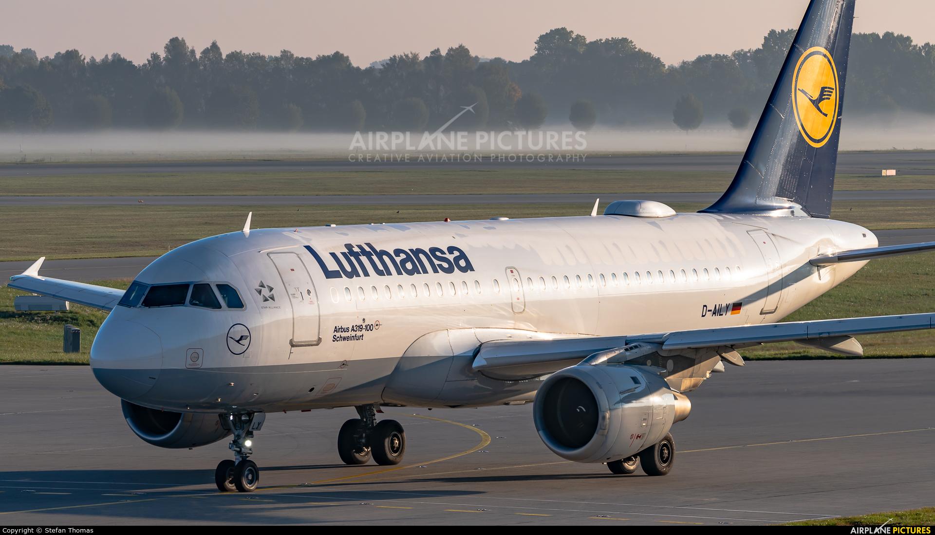 Lufthansa D-AILY aircraft at Munich