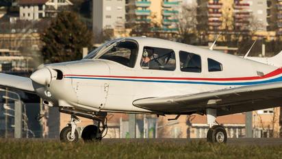 HB-PJI - Groupement de Vol à Moteur - Lausanne Piper PA-28 Warrior