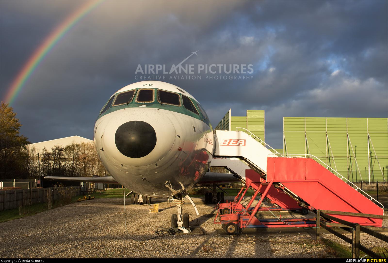 BEA - British European Airways G-AWZK aircraft at Manchester
