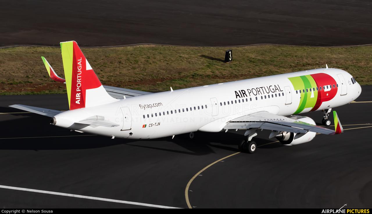 TAP Portugal CS-TJN aircraft at Madeira