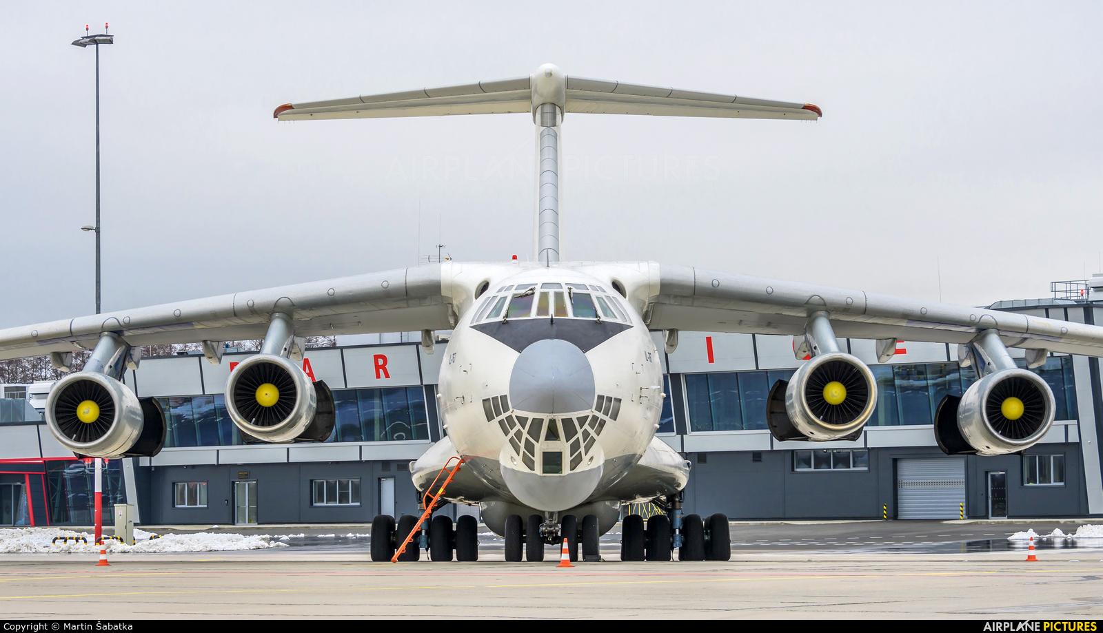 Yuzhmashavia UR-CPV aircraft at Pardubice