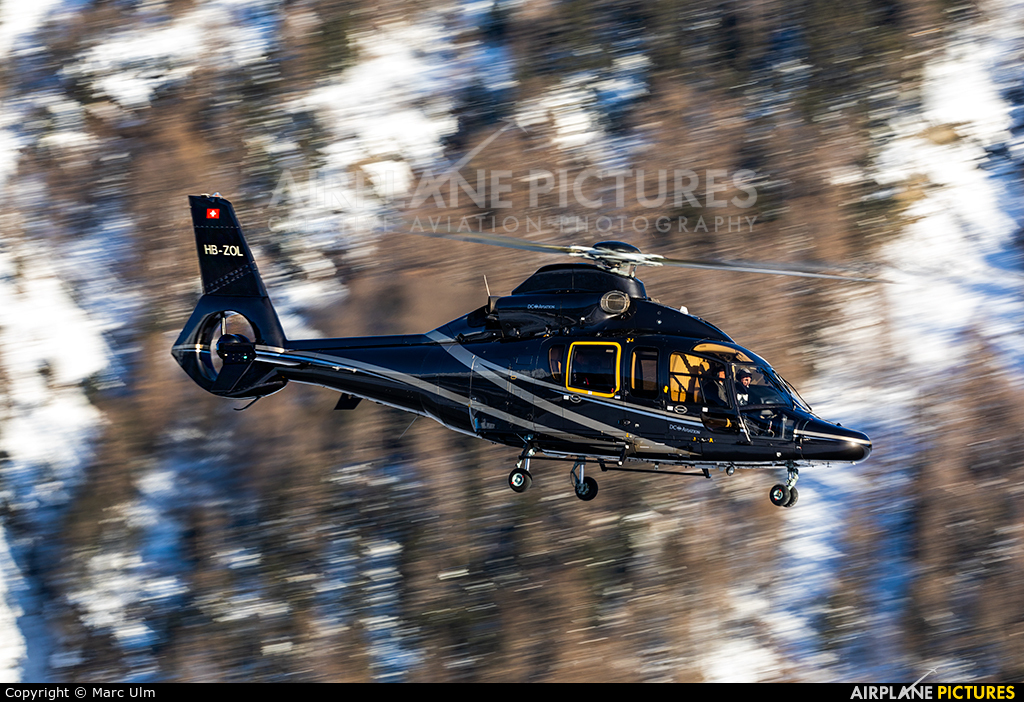 Helilink HB-ZOL aircraft at Samedan - Engadin