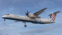 9A-CQD - Croatia Airlines de Havilland Canada DHC-8-400Q / Bombardier Q400 aircraft