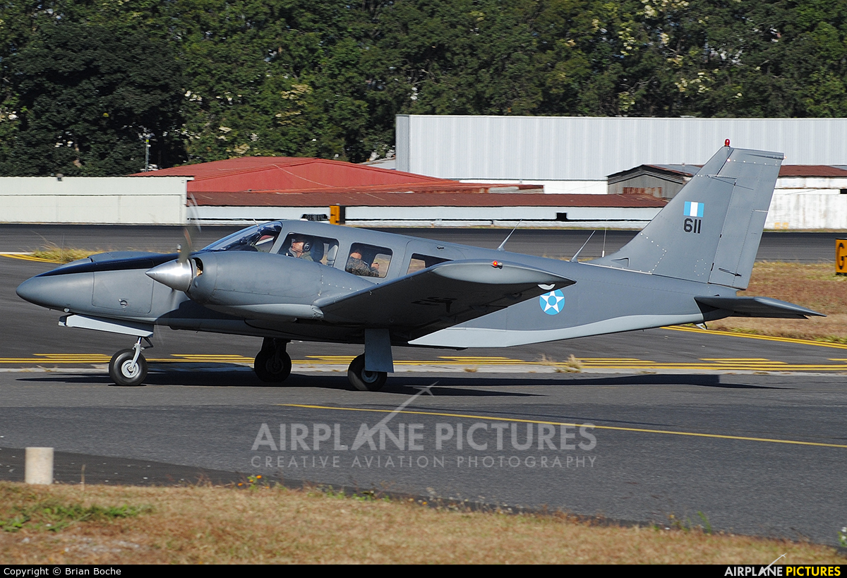 Guatemala - Air Force 611 aircraft at Guatemala - La Aurora