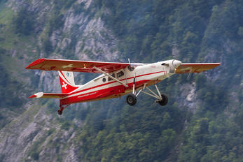 V-622 - Switzerland - Air Force:  Patrouille de Suisse Pilatus PC-6 Porter (all models)