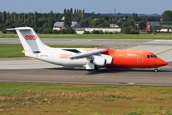 OO-TAS - TNT British Aerospace BAe 146-200/Avro RJ85-QT Quiet Trader