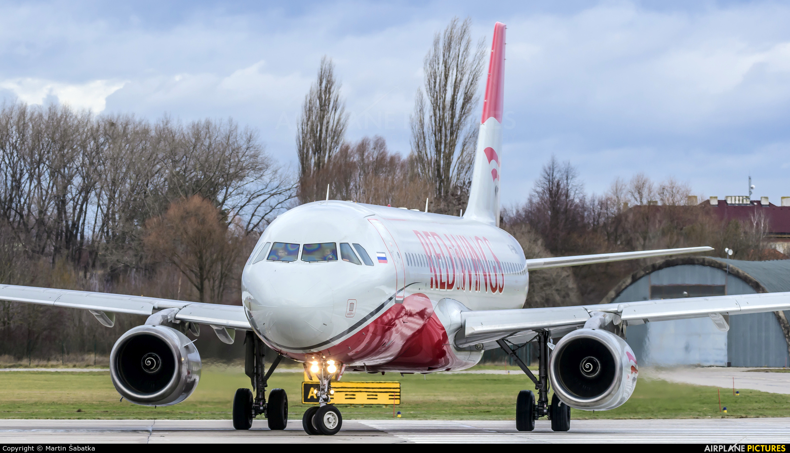 Red Wings VP-BWW aircraft at Pardubice