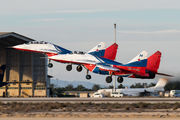 "RF-92134 - Russia - Air Force ""Strizhi"" Mikoyan-Gurevich MiG-29 aircraft"