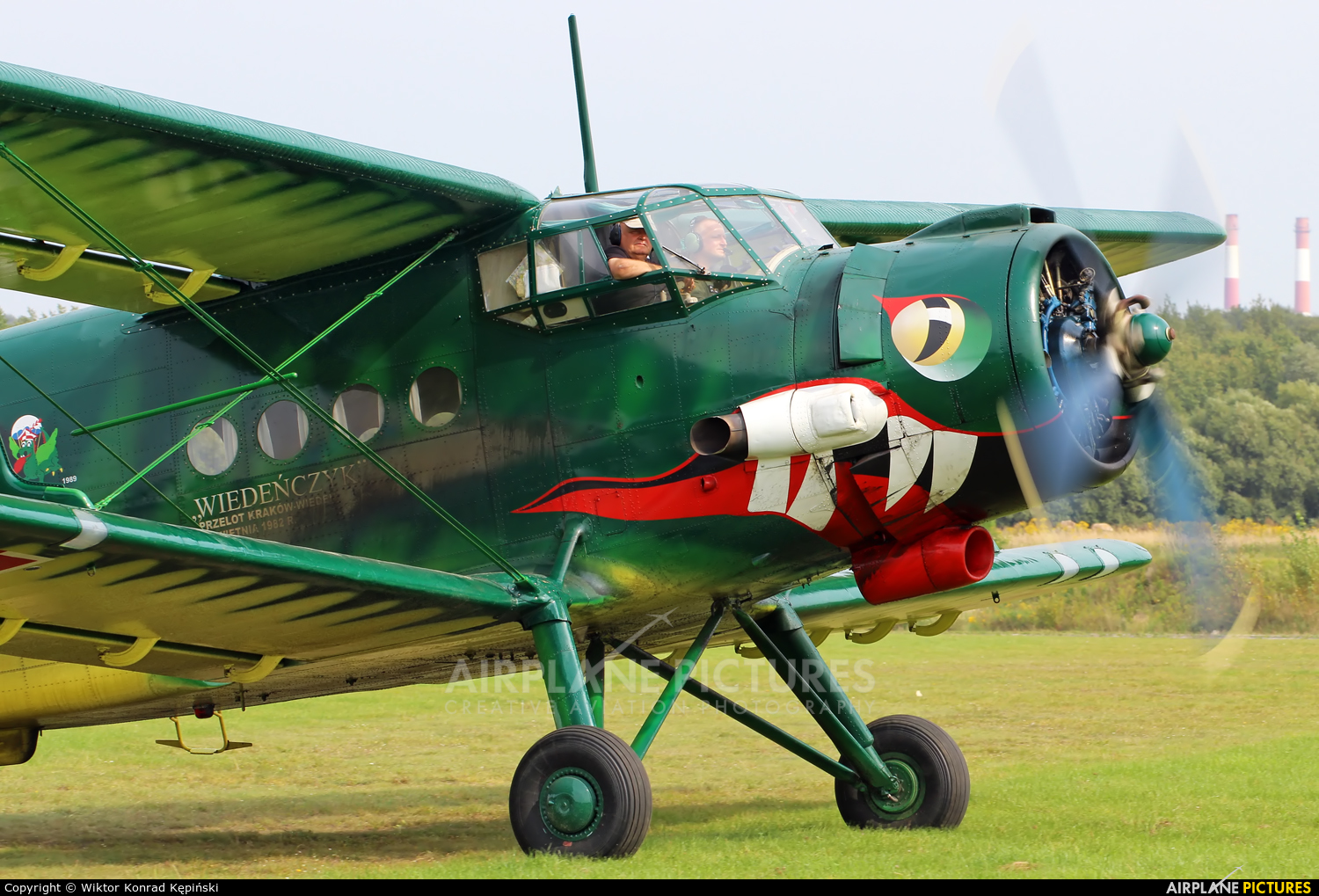 Museum of Polish Aviation SP-MLP aircraft at Katowice Muchowiec