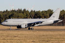 Rare visit of Hungarian Air Force A319 to Weeze
