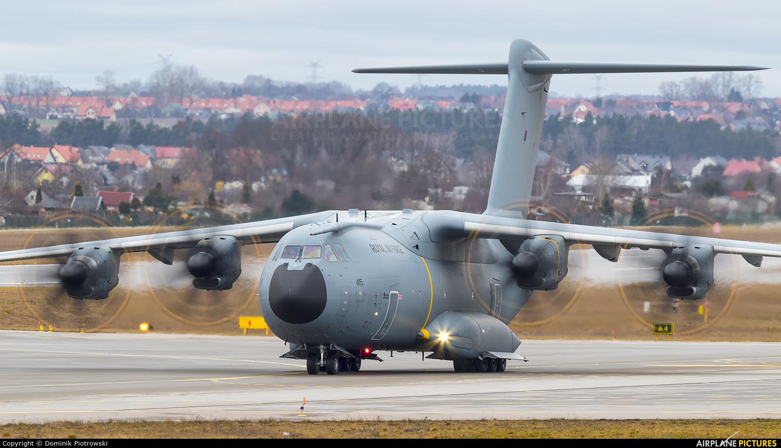 Royal Air Force ZM415 aircraft at Gdańsk - Lech Wałęsa