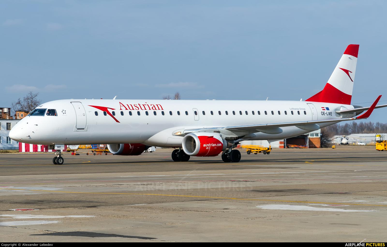 Austrian Airlines/Arrows/Tyrolean OE-LWE aircraft at Krasnodar