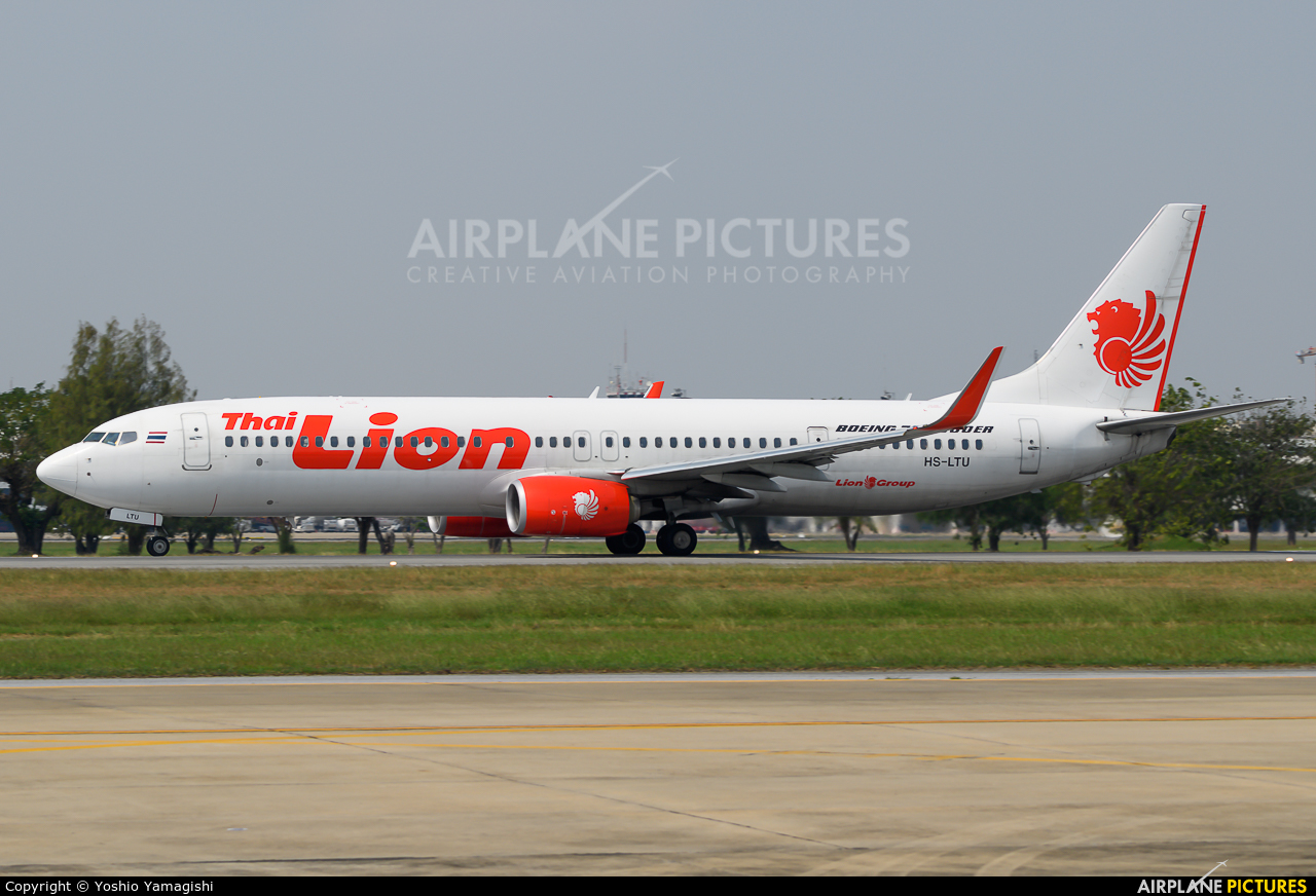 Thai Lion Air HS-LTU aircraft at Bangkok - Don Muang