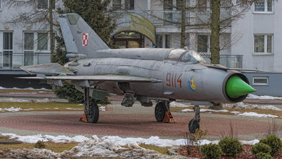 9114 - Poland - Air Force Mikoyan-Gurevich MiG-21MF