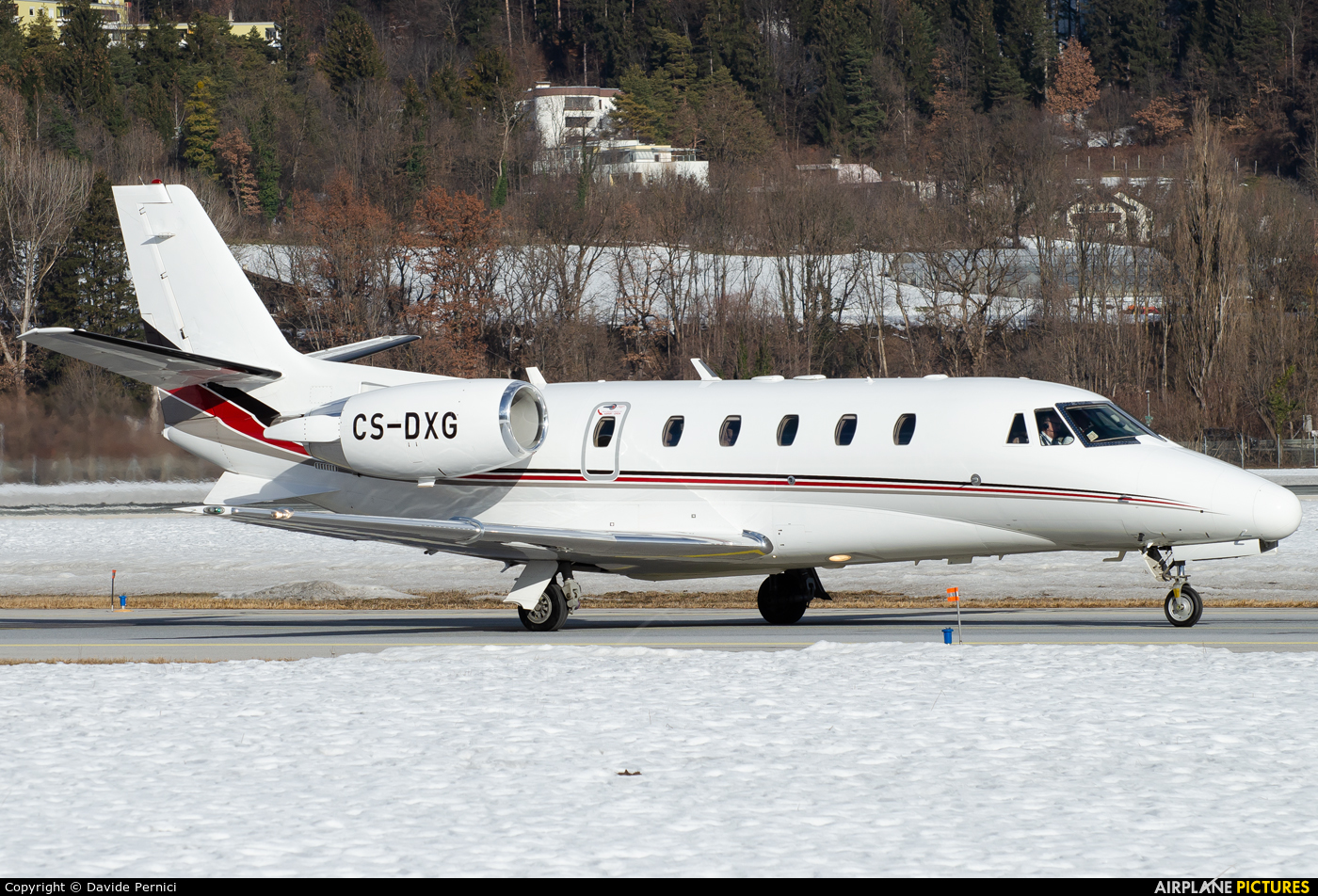 NetJets Europe (Portugal) CS-DXG aircraft at Innsbruck