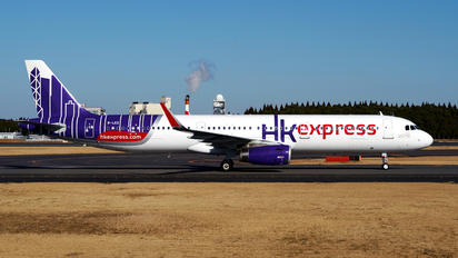 B-LEE - Hong Kong Express Airbus A321