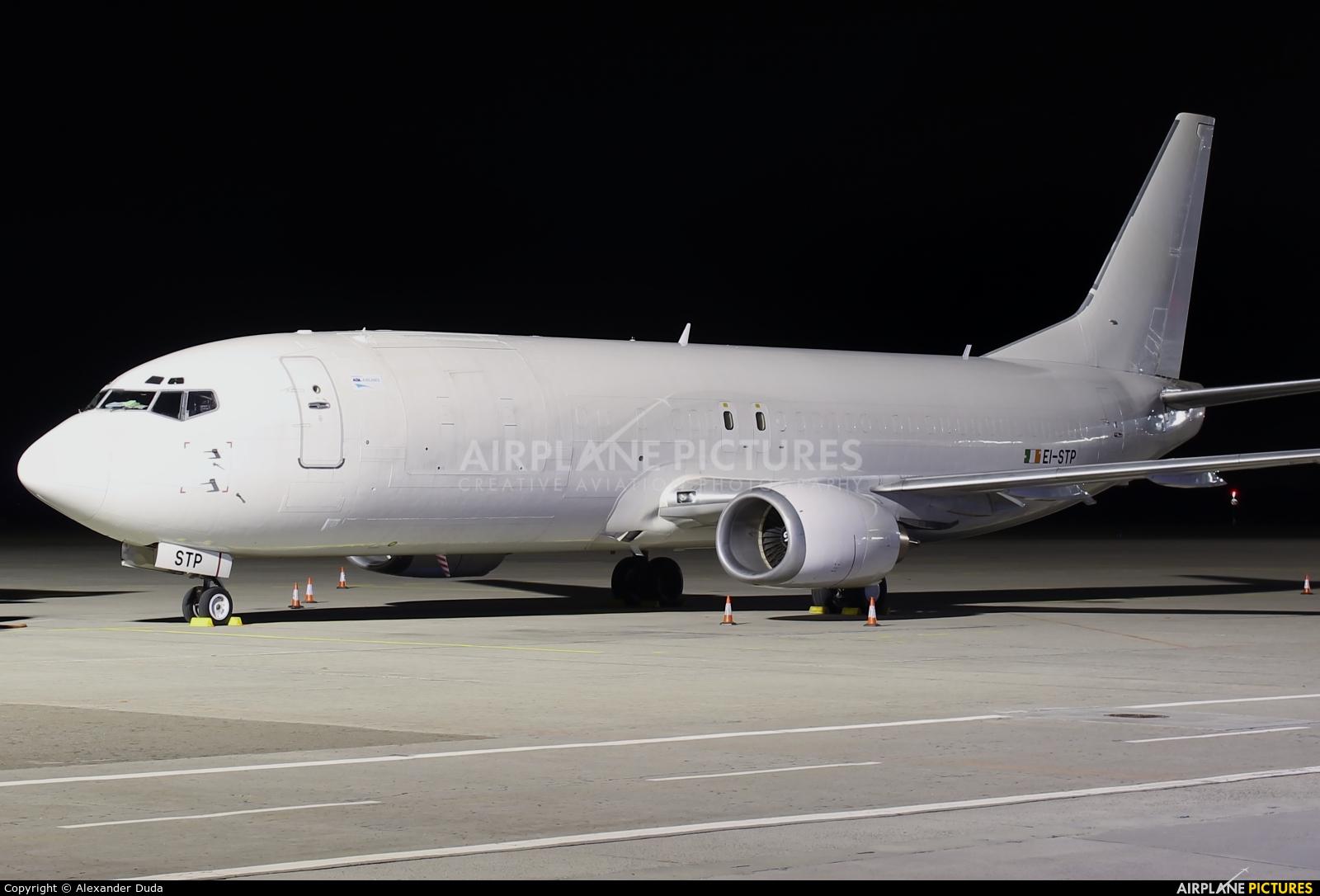 ASL Airlines EI-STP aircraft at Ostrava Mošnov
