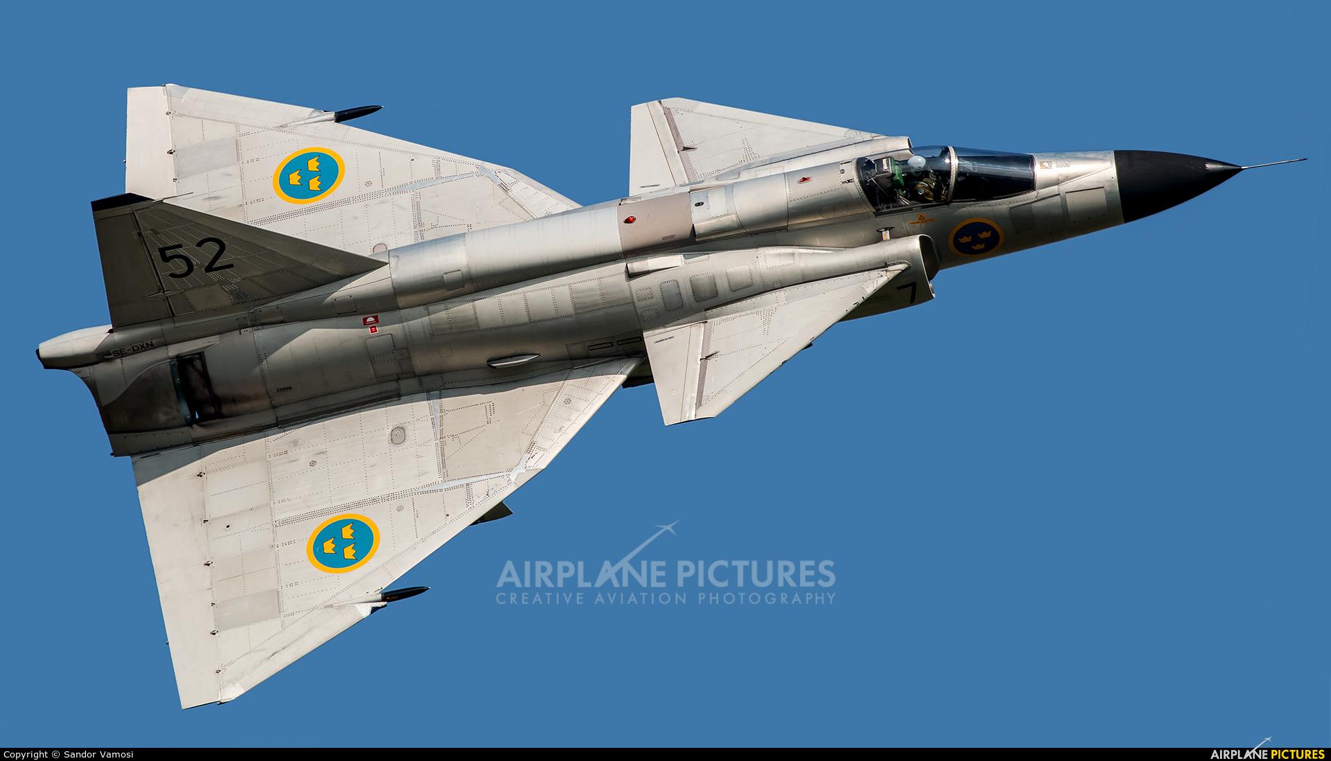 Swedish Air Force Historic Flight SE-DXN aircraft at Ostrava Mošnov