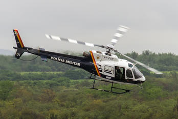 PP-FSP - Police Aviation Services Helibras HB-350B Esquilo