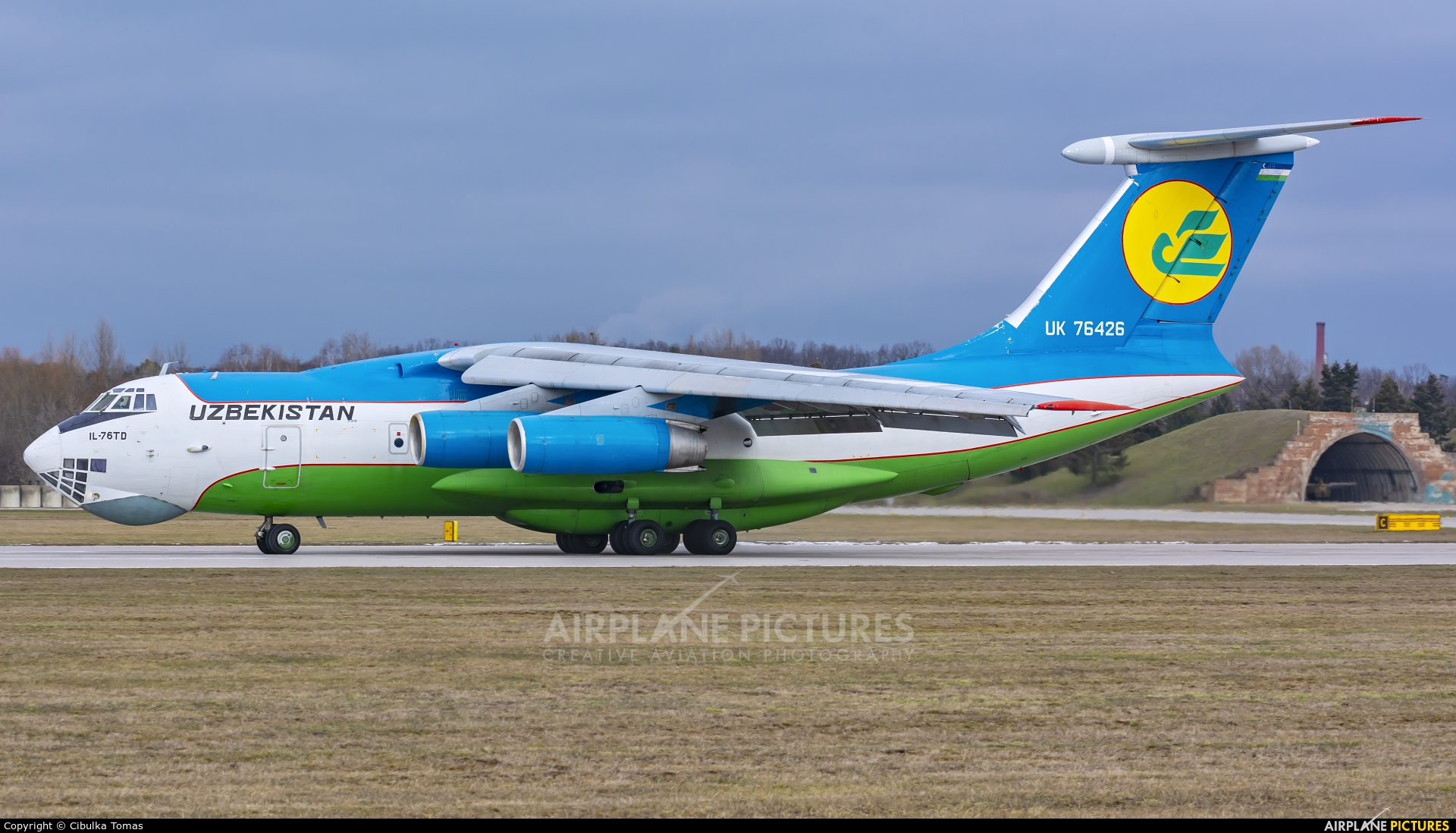 Uzbekistan Air Force UK-76426 aircraft at Pardubice