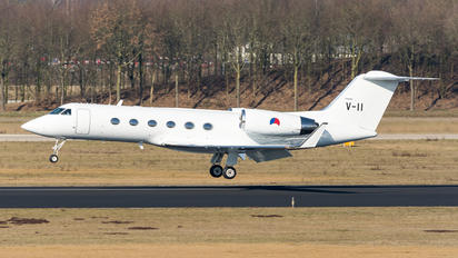 V-11 - Netherlands - Air Force Gulfstream Aerospace G-IV,  G-IV-SP, G-IV-X, G300, G350, G400, G450