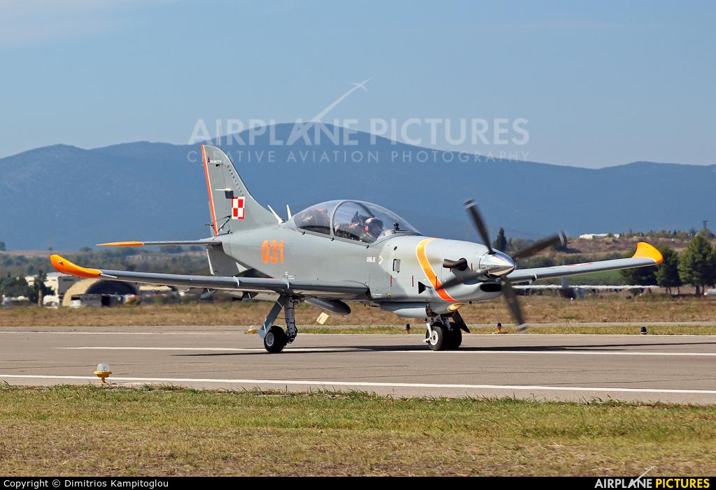 """Poland - Air Force """"Orlik Acrobatic Group"""" 031 aircraft at Tanagra"""