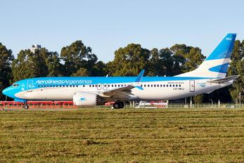 LV-HKU - Aerolineas Argentinas Boeing 737-8 MAX
