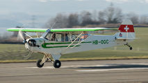 HB-OGC - Private Piper J3 Cub aircraft
