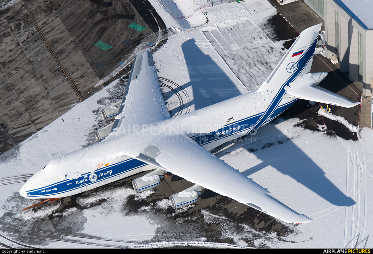 Volga Dnepr Airlines RA-82081 aircraft at Everett - Snohomish County / Paine Field