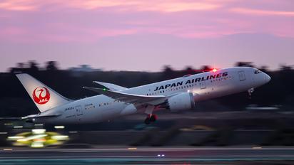 JA823J - JAL - Japan Airlines Boeing 787-8 Dreamliner