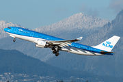 First KLM Airbus A330-200 to wear new livery title=