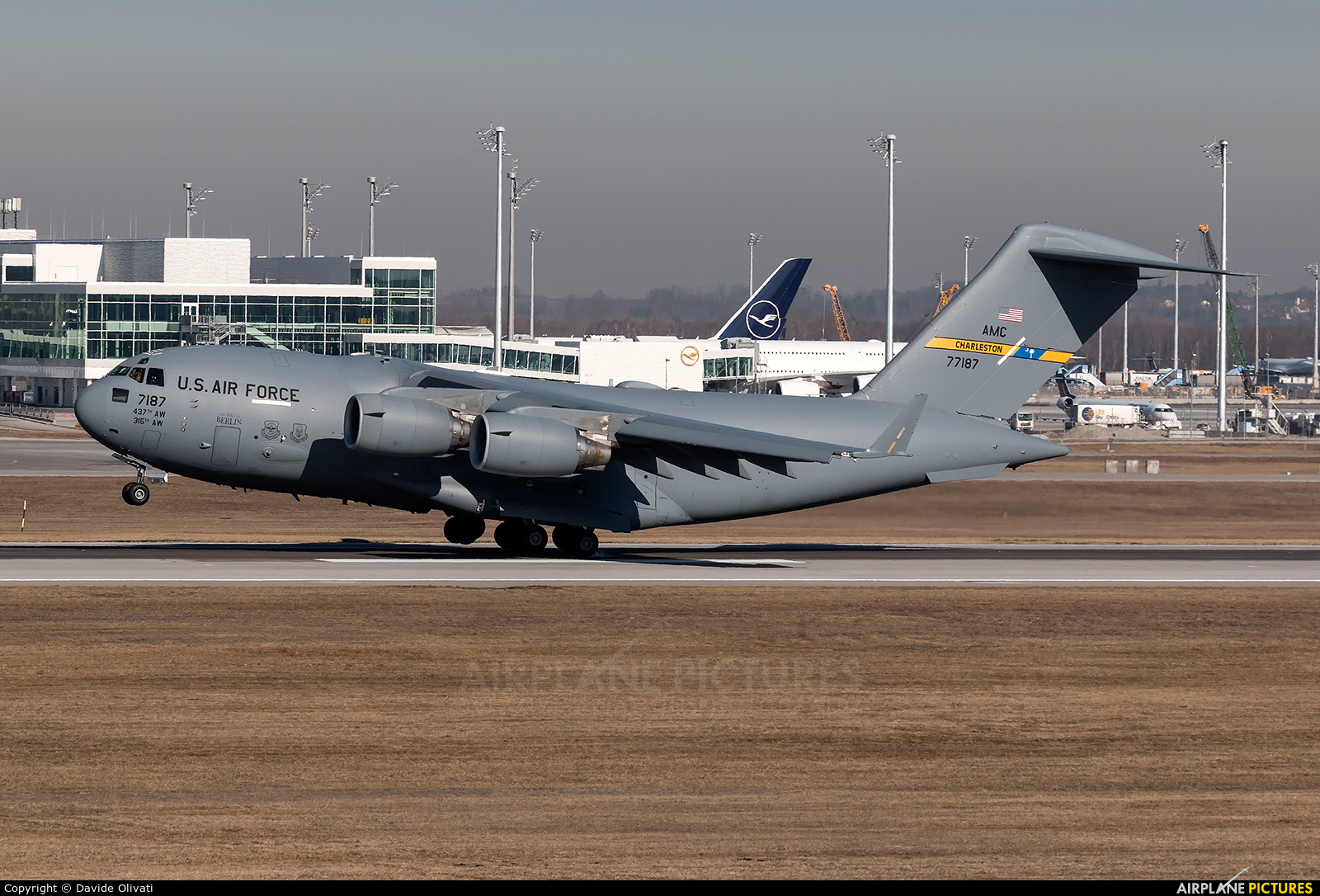 USA - Air Force 07-7187 aircraft at Munich